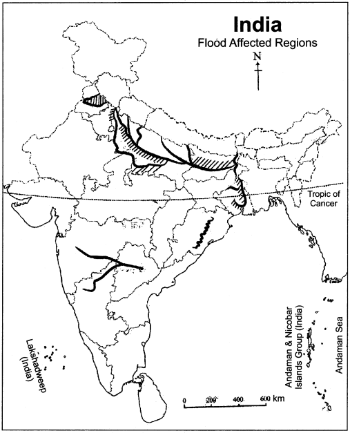 RBSE Solutions for Class 11 Indian Geography Chapter 11 Natural Disasters and Management (Flood, Drought and Sea Storm) img-3