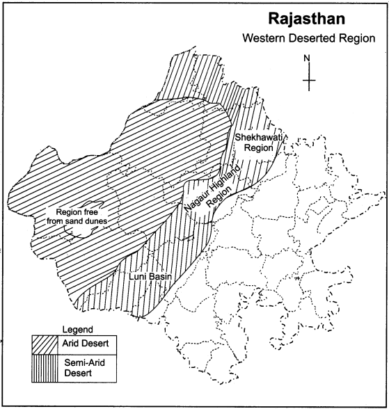 RBSE Solutions for Class 11 Indian Geography Chapter 12 Rajasthan Introduction Physical Features and Drainage System img-2