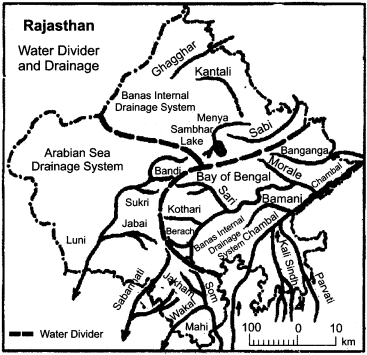 RBSE Solutions for Class 11 Indian Geography Chapter 12 Rajasthan Introduction Physical Features and Drainage System img-5