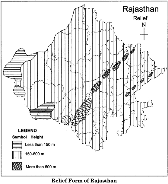 RBSE Solutions for Class 11 Indian Geography Chapter 12 Rajasthan Introduction Physical Features and Drainage System img-6