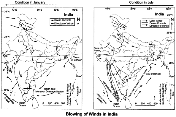 RBSE Solutions for Class 11 Indian Geography Chapter 2 Unity in Diversity of India img-6