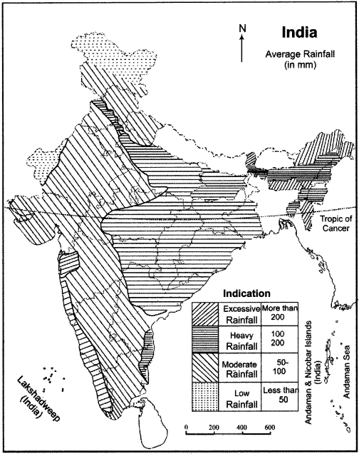 RBSE Solutions for Class 11 Indian Geography Chapter 6 Climate of India img-1