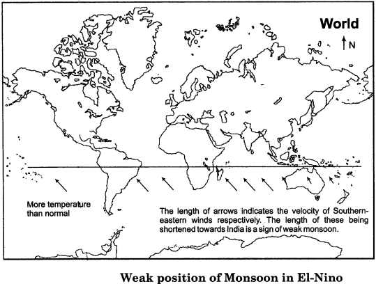 RBSE Solutions for Class 11 Indian Geography Chapter 7 Monsoon System of India img-1