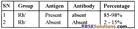 RBSE Solutions for Class 12 Biology Chapter 24 Man-Blood Vascular, System 5