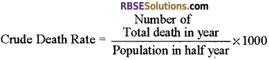 RBSE Solutions for Class 12 Biology Chapter 38 Human Population img 13