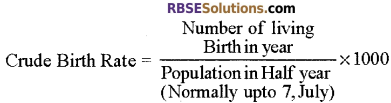 RBSE Solutions for Class 12 Biology Chapter 38 Human Population img 3