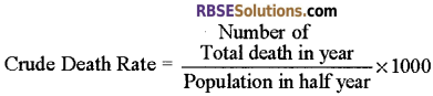 RBSE Solutions for Class 12 Biology Chapter 38 Human Population img 4
