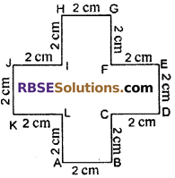 RBSE Solutions for Class 6 Maths Chapter 14 Perimeter and Area In Text Exercise image 3