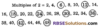 RBSE Solutions for Class 6 Maths Chapter 2 Relation Among Numbers Ex 2.2 image 7