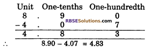 RBSE Solutions for Class 6 Maths Chapter 6 Decimal Numbers In Text Exercise image 10