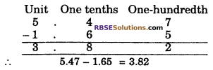 RBSE Solutions for Class 6 Maths Chapter 6 Decimal Numbers In Text Exercise image 9