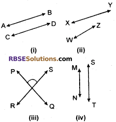 RBSE Solutions for Class 6 Maths Chapter 8 Basic Geometrical Concepts and Shapes Ex 8.2 image 1