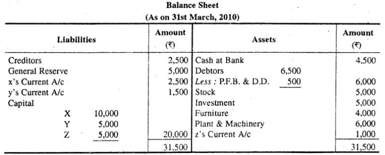 RBSE Class 12 Accountancy Model Paper 1 1