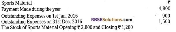 RBSE Class 12 Accountancy Model Paper 3 1
