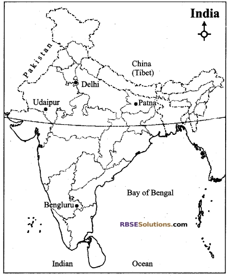 RBSE Class 12 Geography Model Paper 1 English Medium 3