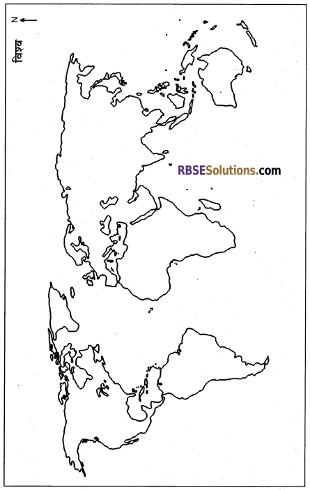 RBSE Class 12 Geography Model Paper 3 1
