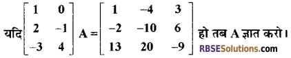 RBSE Class 12 Maths Model Paper 2 3