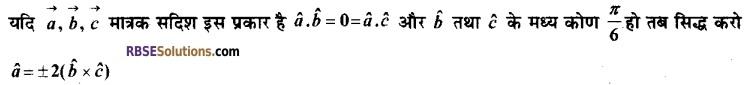 RBSE Class 12 Maths Model Paper 2 5