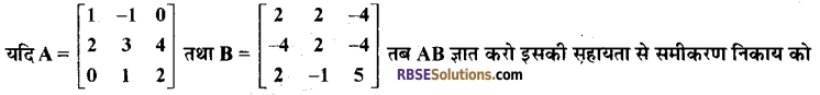 RBSE Class 12 Maths Model Paper 2 9