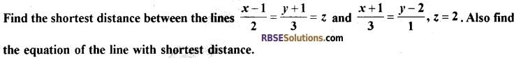 RBSE Class 12 Maths Model Paper 2 English Medium 11