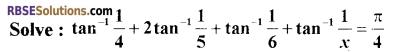 RBSE Class 12 Maths Model Paper 2 English Medium 6