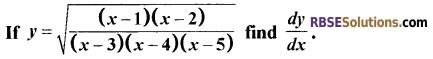 RBSE Class 12 Maths Model Paper 2 English Medium 8