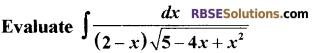 RBSE Class 12 Maths Model Paper 2 English Medium 9