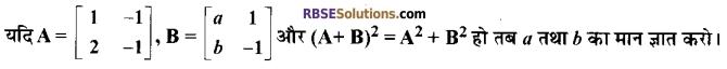 RBSE Class 12 Maths Model Paper 3 3