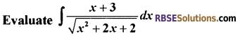 RBSE Class 12 Maths Model Paper 3 English Medium 12