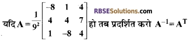 RBSE Class 12 Maths Model Paper 4 8