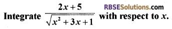 RBSE Class 12 Maths Model Paper 4 English Medium 12