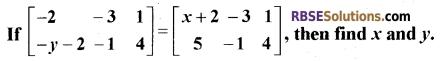 RBSE Class 12 Maths Model Paper 4 English Medium 2