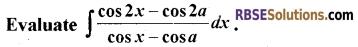 RBSE Class 12 Maths Model Paper 4 English Medium 6