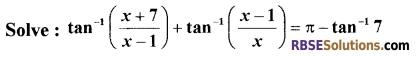RBSE Class 12 Maths Model Paper 4 English Medium 8