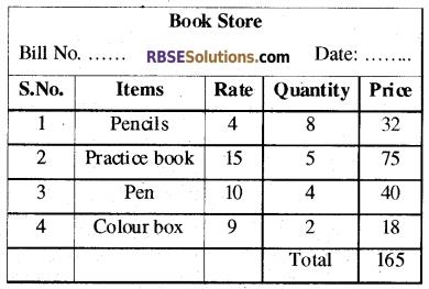 RBSE Class 5 Mathematics Model Paper 1 English Medium 15