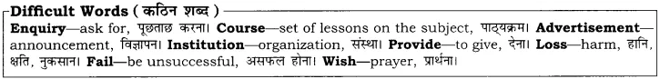 RBSE Solutions for Class 10 English Poem Chapter 6 Writing Skills image 11