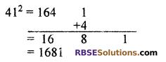 RBSE Solutions for Class 10 Maths Chapter 1 Vedic MathematicsAdditional Questions Q6