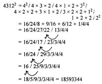 RBSE Solutions for Class 10 Maths Chapter 1 Vedic MathematicsEx 1.2 Q19