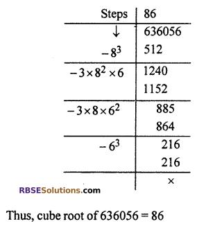 RBSE Solutions for Class 10 Maths Chapter 1 Vedic MathematicsEx 1.3 Q10