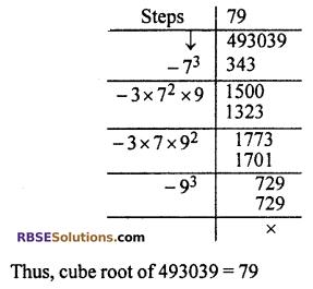 RBSE Solutions for Class 10 Maths Chapter 1 Vedic MathematicsEx 1.3 Q12