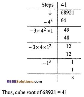 RBSE Solutions for Class 10 Maths Chapter 1 Vedic MathematicsEx 1.3 Q9