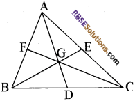 RBSE Solutions for Class 10 Maths Chapter 10 बिन्दु पथ Additional Questions 14