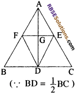 RBSE Solutions for Class 10 Maths Chapter 10 बिन्दु पथ Additional Questions 2