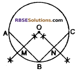 RBSE Solutions for Class 10 Maths Chapter 10 Locus Additional Questions 3