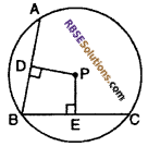 RBSE Solutions for Class 10 Maths Chapter 10 Locus Ex 10.1 2