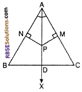 RBSE Solutions for Class 10 Maths Chapter 10 Locus Ex 10.2 14