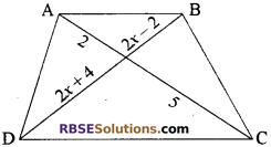 RBSE Solutions for Class 10 Maths Chapter 11 समरूपता Additional Questions 10
