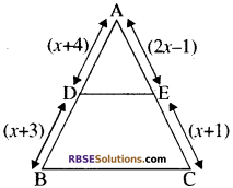 RBSE Solutions for Class 10 Maths Chapter 11 समरूपता Additional Questions 3