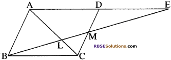 RBSE Solutions for Class 10 Maths Chapter 11 समरूपता Additional Questions 59