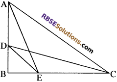 RBSE Solutions for Class 10 Maths Chapter 11 समरूपता Additional Questions 72
